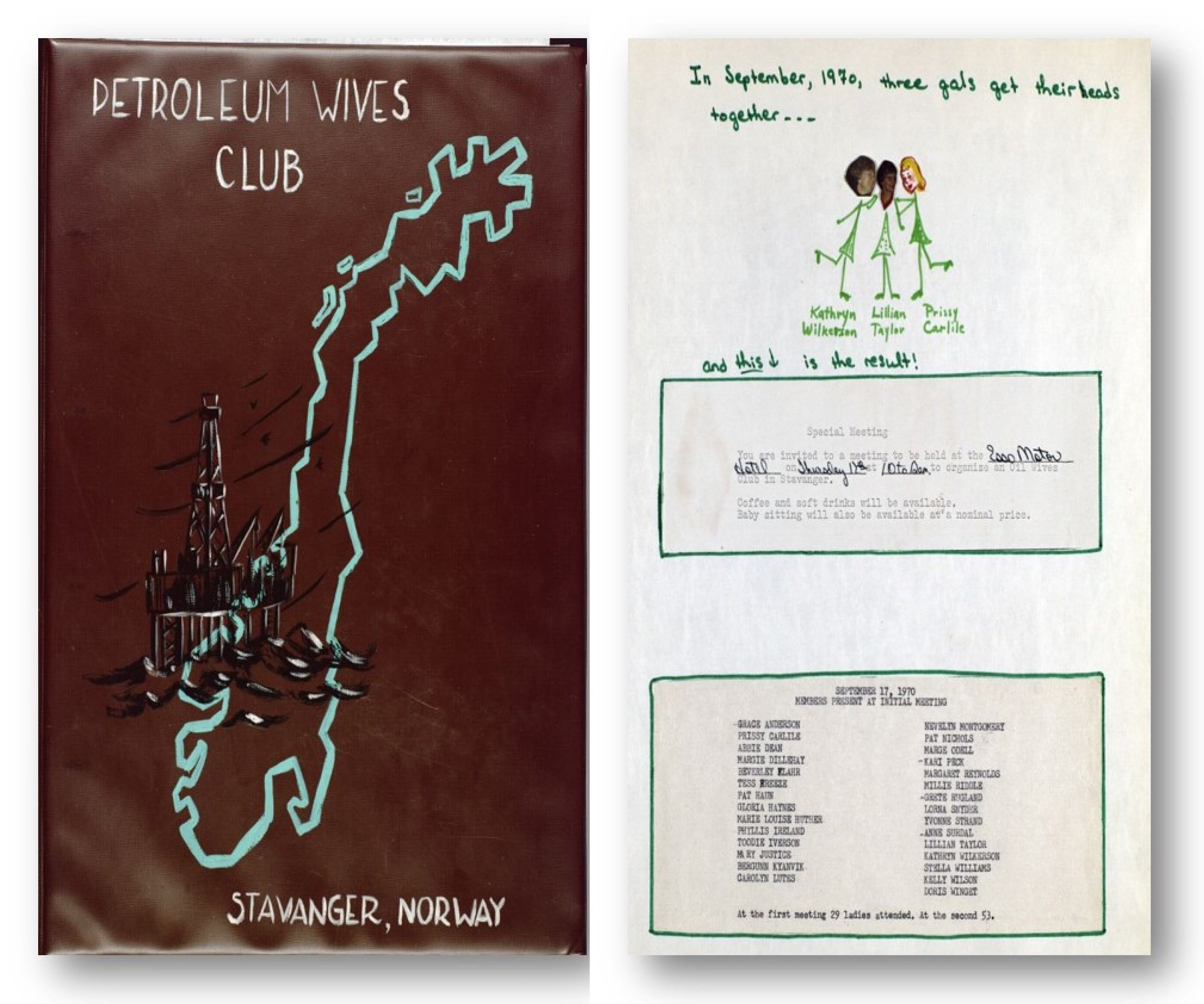 Petroleum wives club pwc creating a meaningful and inclusive scrapbook stopboris Choice Image