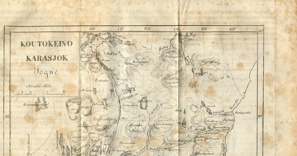 Kautokeino Opproret 1852 Arkivverket