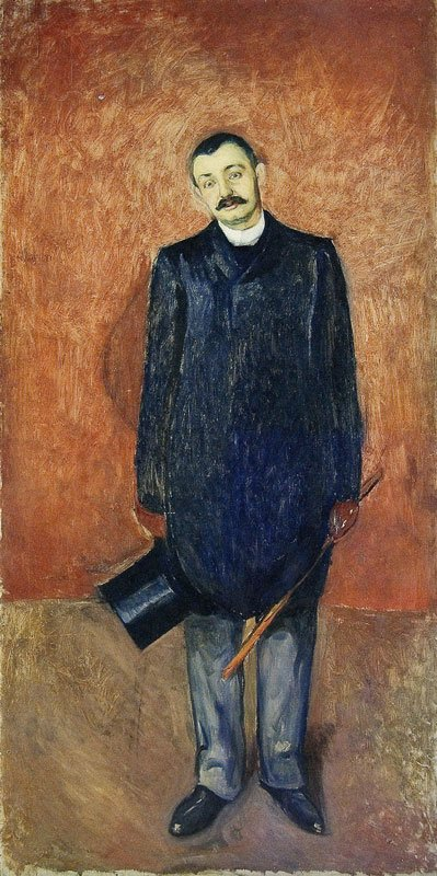 edvard munch ludvig meyer 1892